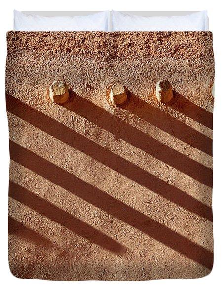 Shadow Beams Duvet Cover