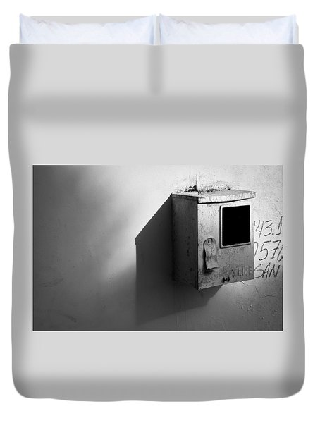 Shadow Box 2006 1 Of 1 Duvet Cover
