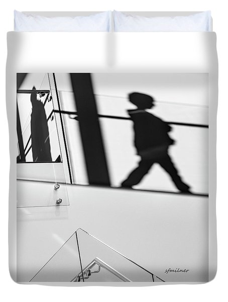 Shadow Child Duvet Cover