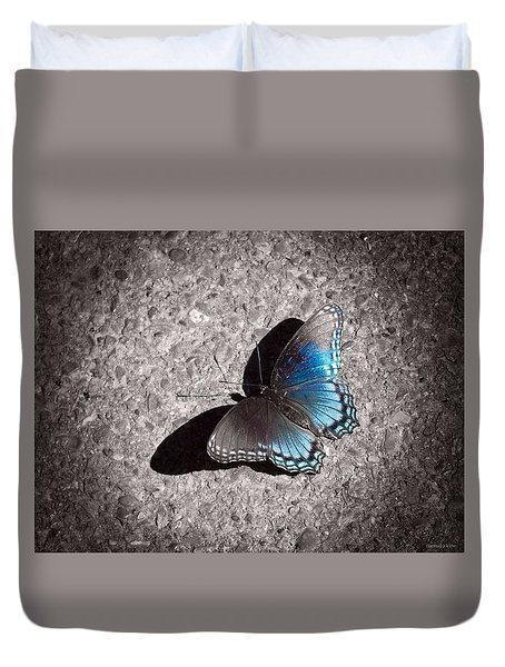 Shadow Games Duvet Cover