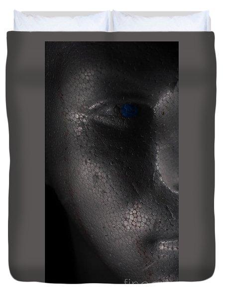 Shadow Man Duvet Cover
