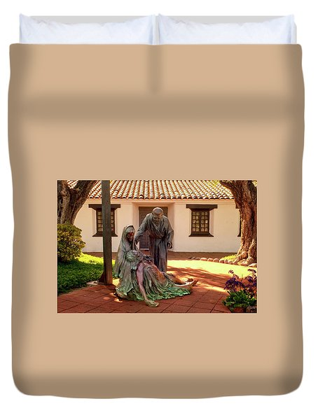 Shadow Of The Cross Detail Duvet Cover