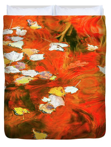 Shadow Of The Red Dragon Duvet Cover