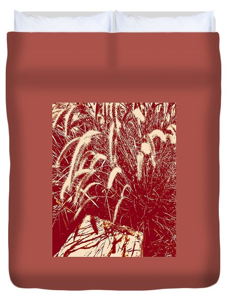 Shadow Painting Duvet Cover