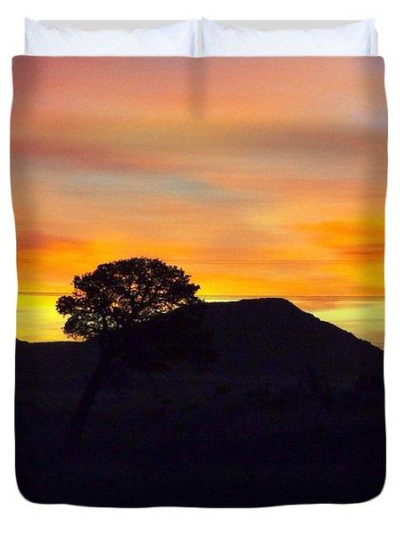 Shadow Tree Duvet Cover