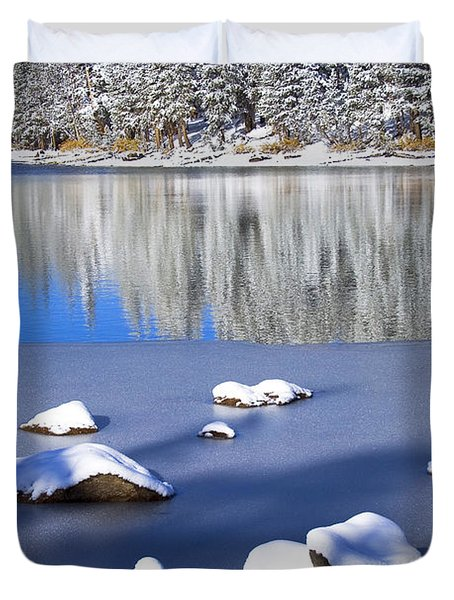 Shadowed Coolness Duvet Cover by Chris Brannen