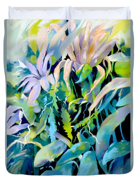 Shadowed Delight Duvet Cover by Rae Andrews