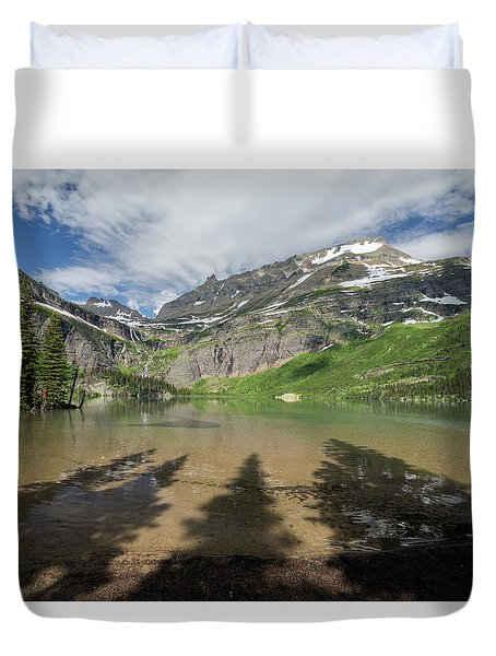 Shadows Duvet Cover