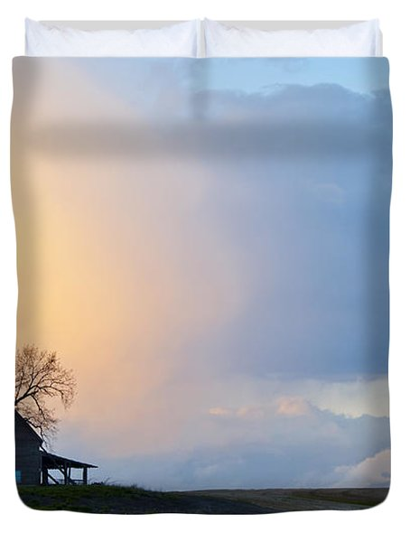 Shadows And Light Duvet Cover