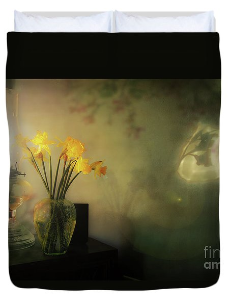 Shadows And Reflections Duvet Cover