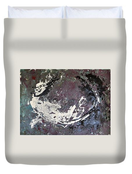 Shadows And Substance-2 Duvet Cover