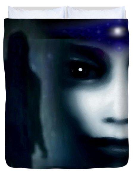 Shadows Of Fear Duvet Cover