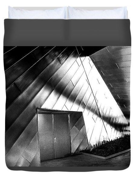 Shadows On The Wall Duvet Cover