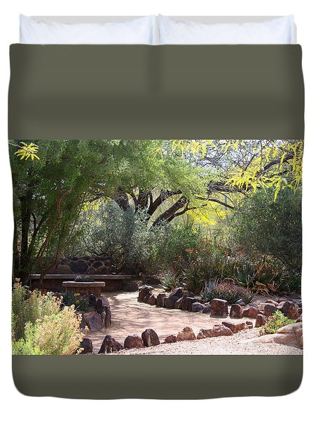 Shady Nook Duvet Cover