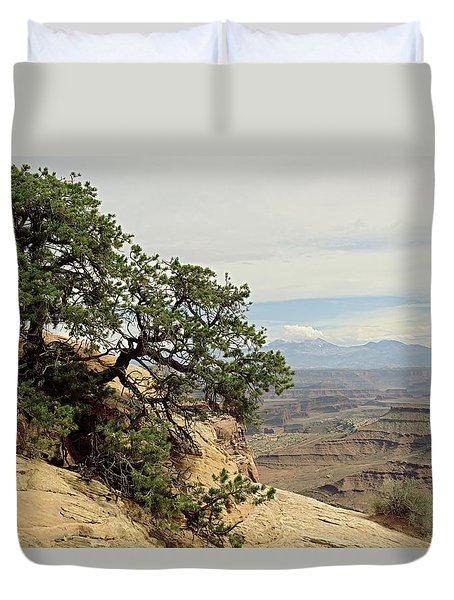 Shafer Canyon Overlook Duvet Cover