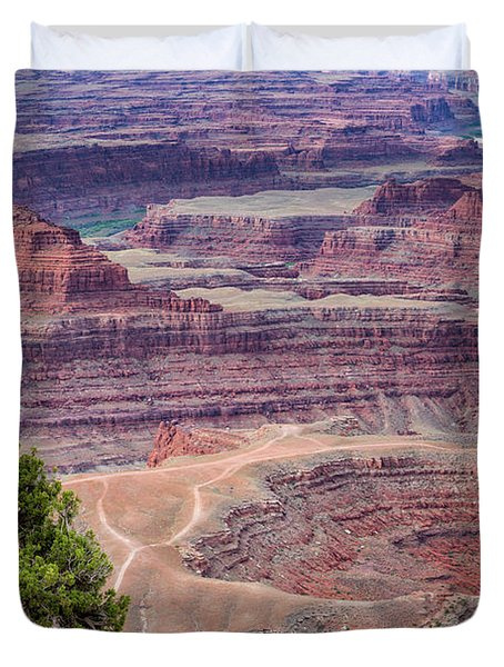 Shafer Canyon Detail Duvet Cover
