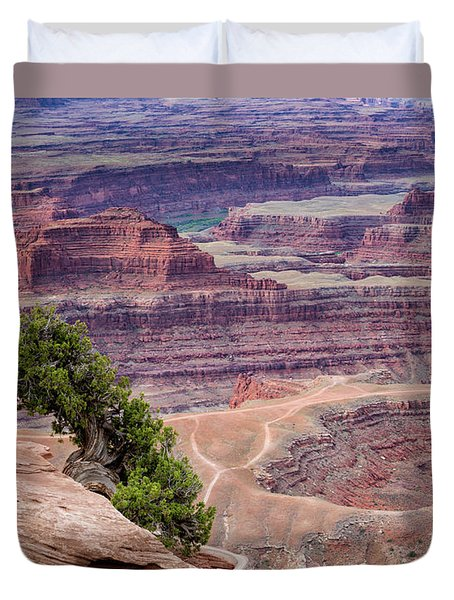 Shafer Canyon Detail Duvet Cover