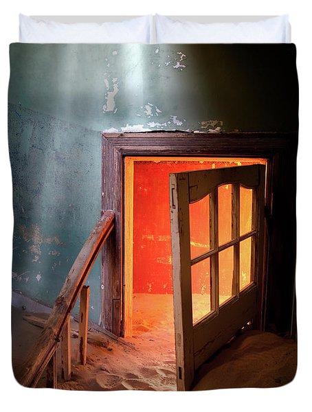 Shaft Of Light Duvet Cover