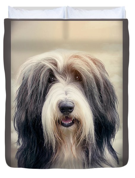 Shaggy Dog Duvet Cover