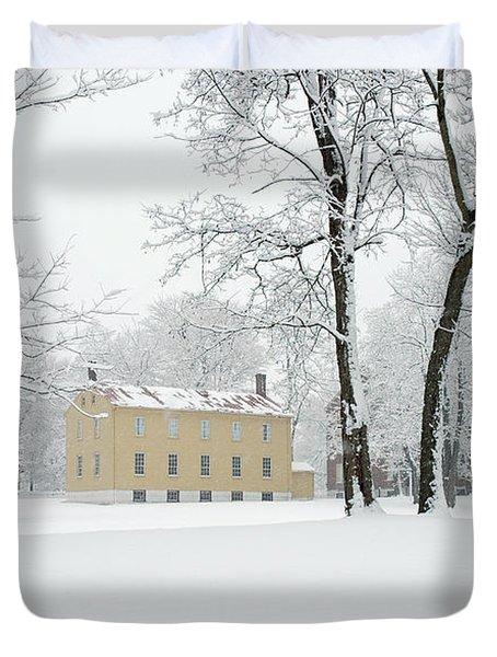 Shaker Winter Duvet Cover