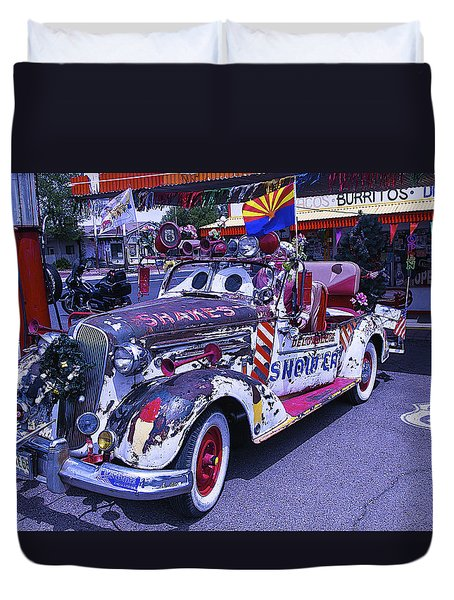 Shakes Automobile Duvet Cover