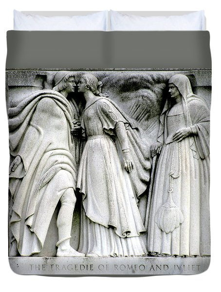 Shakespeares Romeo And Juliet Duvet Cover