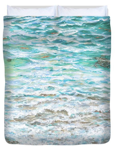 Shallow Water Duvet Cover