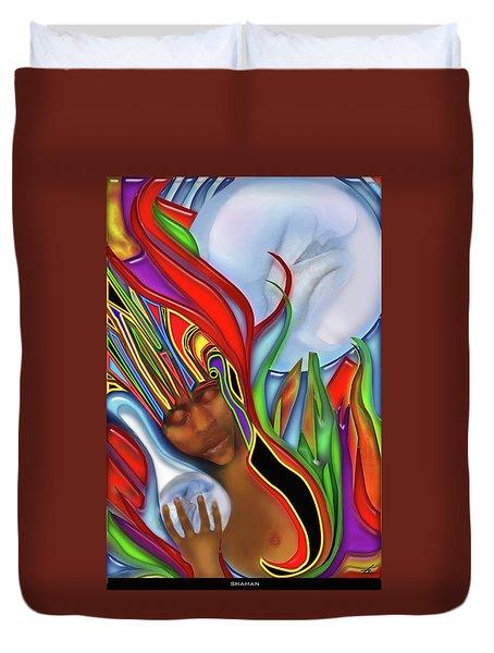 Shaman Duvet Cover