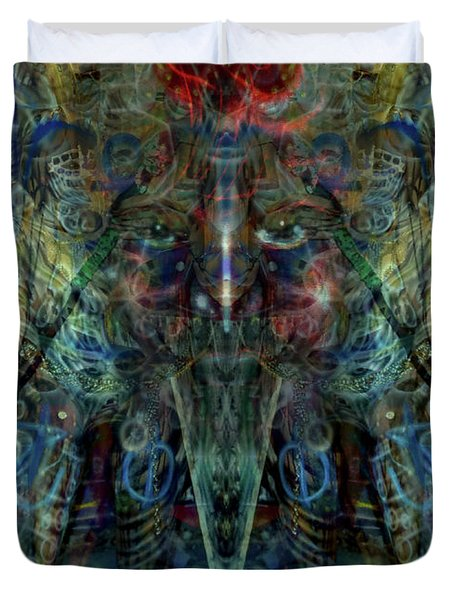 Shamanic Dream Duvet Cover