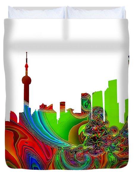 Shanghai  Duvet Cover