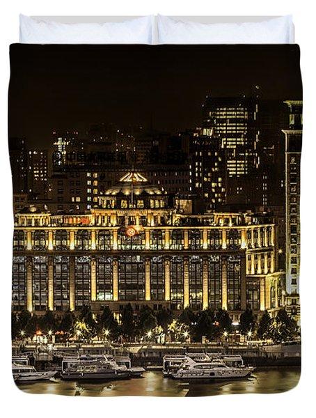 Shanghai Nights Duvet Cover