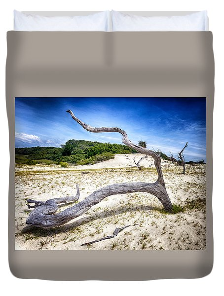 Duvet Cover featuring the photograph Shape Shifter by Alan Raasch