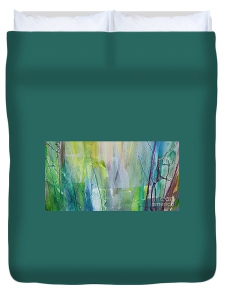 Shapes And Colors Duvet Cover