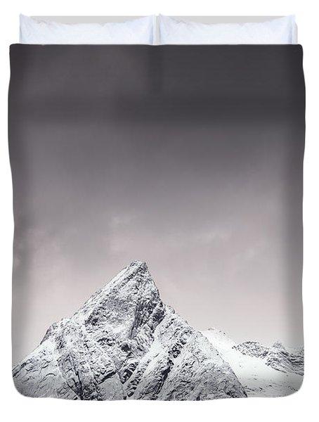 Shapes Of Lofoten Duvet Cover