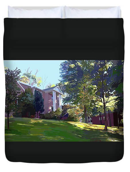Sharbel House Duvet Cover
