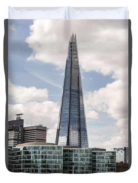 Shard Building In London Duvet Cover