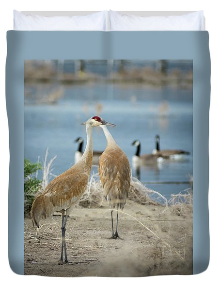 Shared Vision Duvet Cover