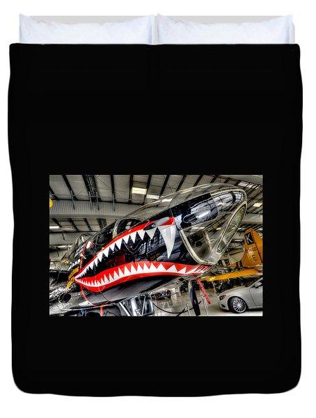 Shark Bite Duvet Cover