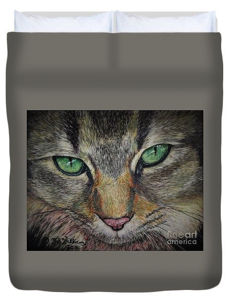 Sharna Eyes Duvet Cover