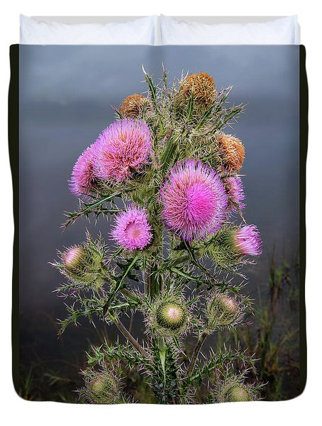 Sharp Thistle Duvet Cover