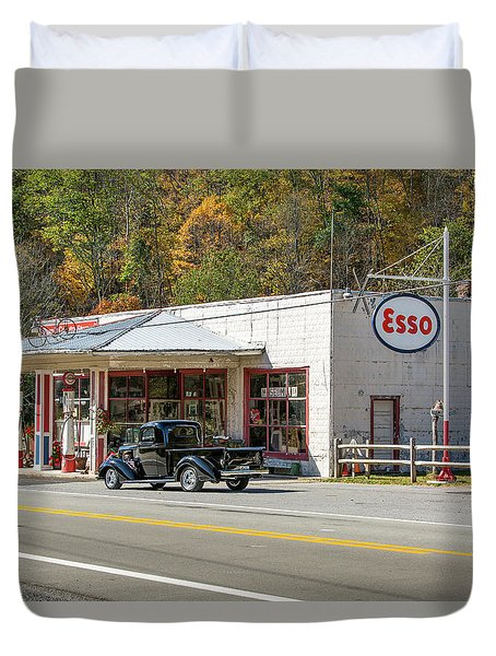 Sharp's Country Store Duvet Cover