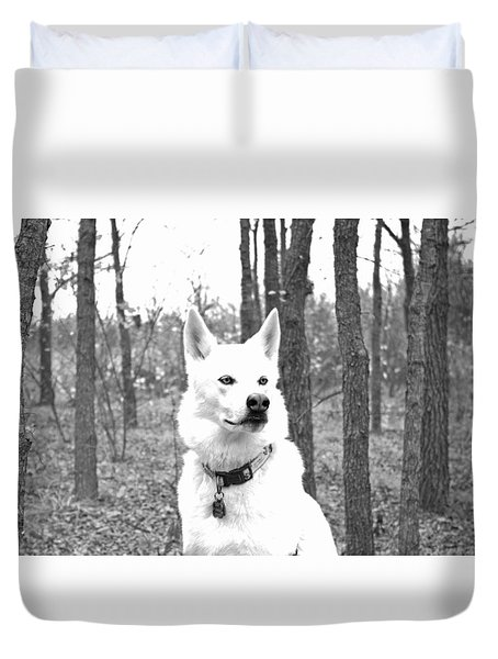 Shasta Back To The Wild Duvet Cover by Robyn Stacey