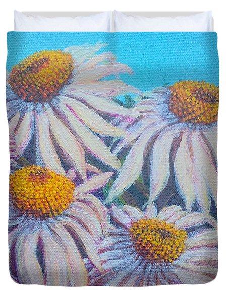Shasta Daisy#1 Duvet Cover