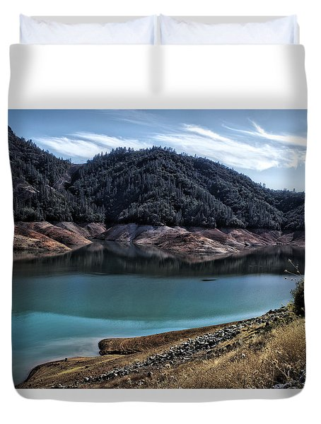 Shasta Lake Duvet Cover