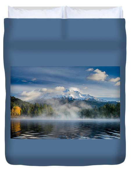 Shasta Mists And Morning 2 Duvet Cover