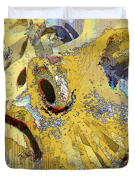 Shattered Illusions Duvet Cover