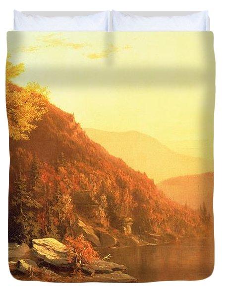 Shawanagunk Mountains Duvet Cover