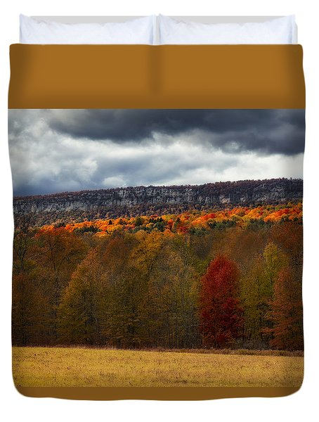Shawangunk Mountains Hudson Valley Ny Duvet Cover