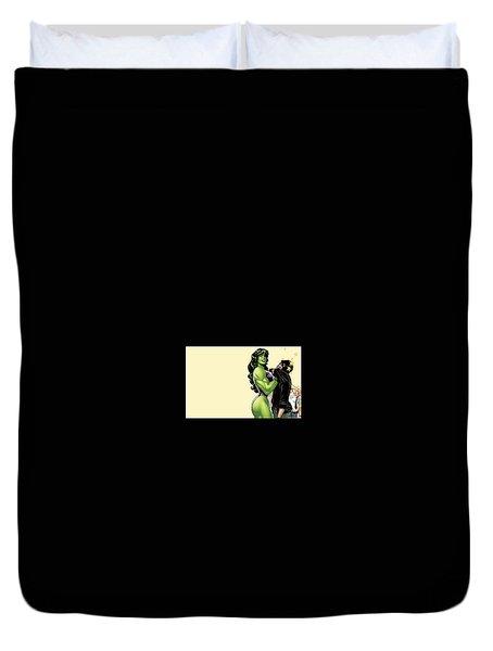 She-hulk Duvet Cover