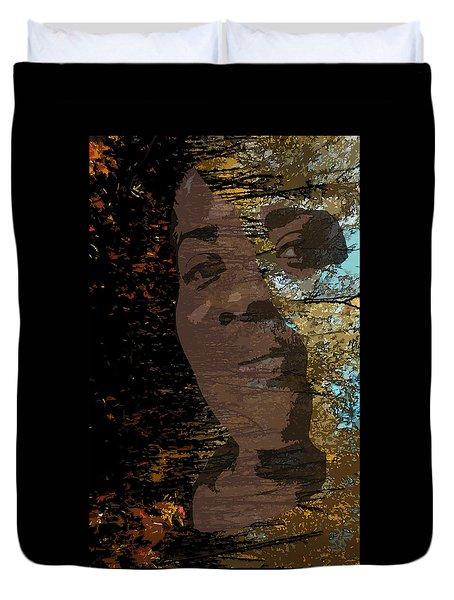 She Is Loved Duvet Cover by Cedric Hampton